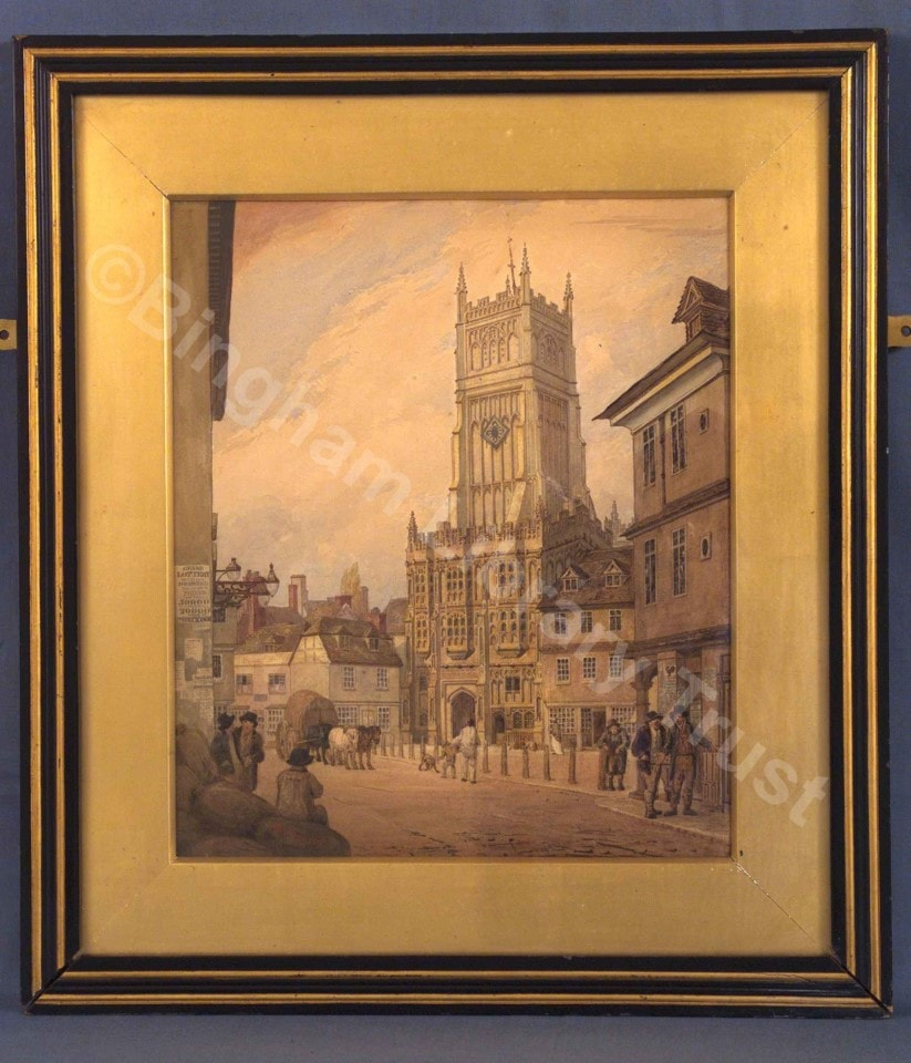 Cirencester Town Council Painting